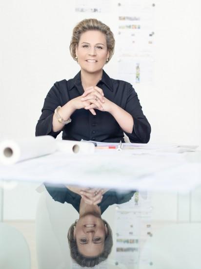 Architektin DIin Olivia E. Schimek-Hickisch